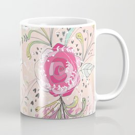 Rose Bouquet ~ Pink Haze Coffee Mug