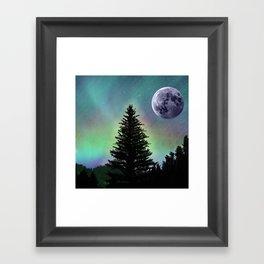 Northern Aurora Framed Art Print