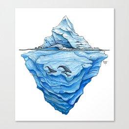 Icebreak Canvas Print