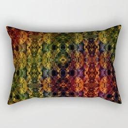 Kaleidescape Pattern Rectangular Pillow