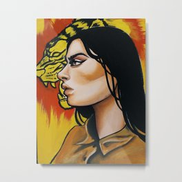 Omg she's got the power Metal Print