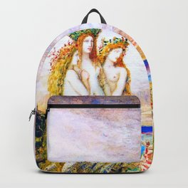 """Gustave Moreau """"The Sirens"""" Backpack"""
