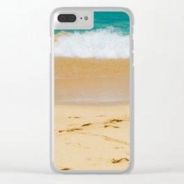 Shoreline Beach Clear iPhone Case