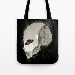 Alien´s Head Tote Bag