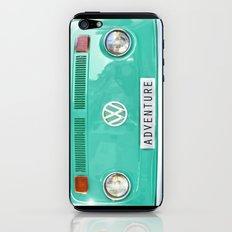 Adventure wolkswagen. Summer dreams. Green iPhone & iPod Skin