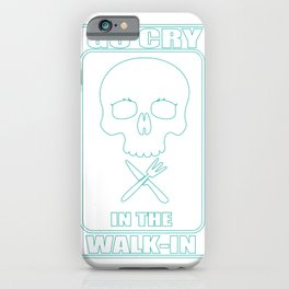 Go Howl In The Hall Cook Kitchen Gift iPhone Case