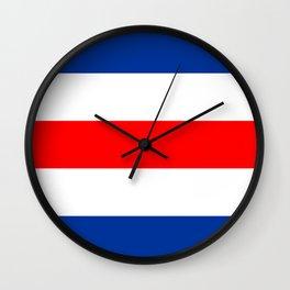 Charlie Flag Wall Clock