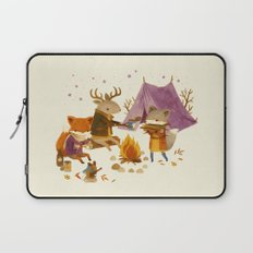 Critters: Fall Camping Laptop Sleeve