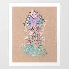 Love Love Love Little Heart Art Print