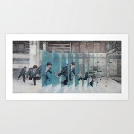 The Grid Art Print