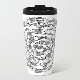 swimming in circles Metal Travel Mug