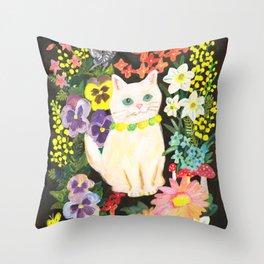 I Am a Cat Throw Pillow