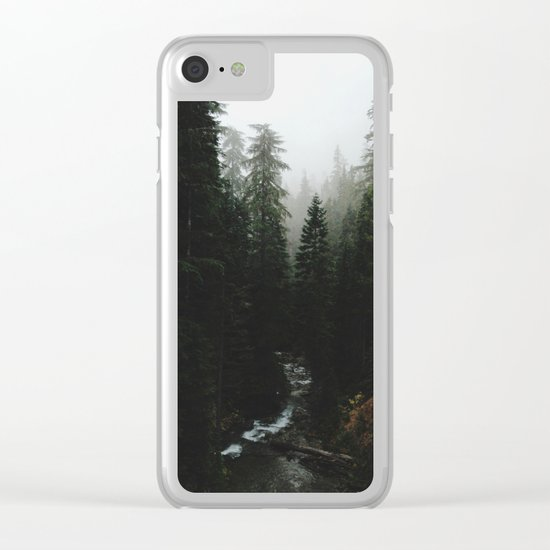 Rainier Creek Clear iPhone Case