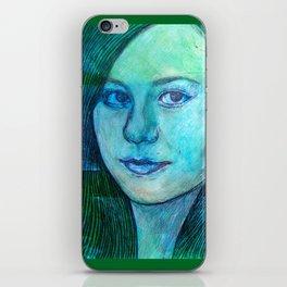 Portrait 1 iPhone Skin