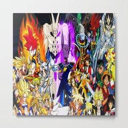 anime all Metal Print