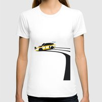 audi T-shirts featuring Quattro S1 by Cale Funderburk