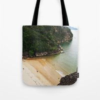 heaven Tote Bags featuring Heaven by Mimy
