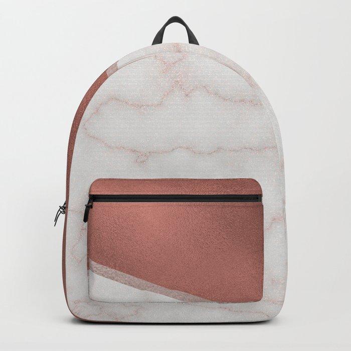 Lexington copper marble Backpack
