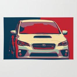 Subaru Ilustration Rug