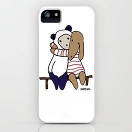 BB&P Hug iPhone Case