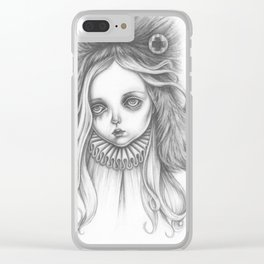 Annabella Clear iPhone Case