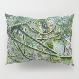 Mossy Branches Pillow Sham