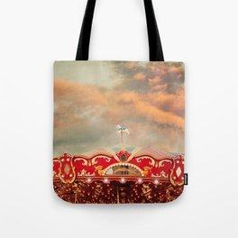 Wonderful Whirled Carousel Tote Bag