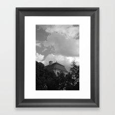 sky and ..  Framed Art Print