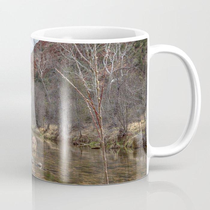 Oak Creek at the Base of Cathedral Rock Coffee Mug