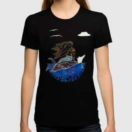 Lady of the Atlantic Crossing T-shirt
