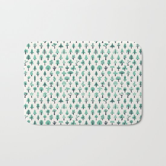 For the Trees Bath Mat