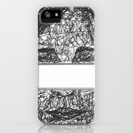 seeing the unknown  iPhone Case