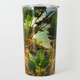 Traveller's Palm On Pic Pardis in Saint Martin Travel Mug