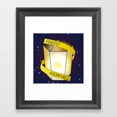 Firefly from Hell Framed Art Print