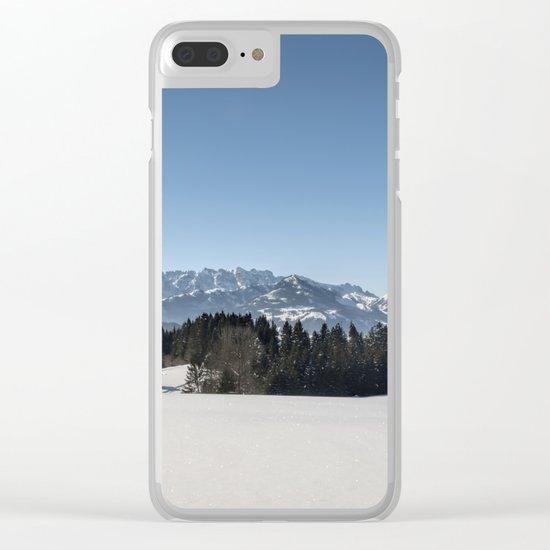 Winter Wonderland I Clear iPhone Case
