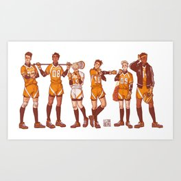The Foxhole Court Art Print