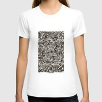newspaper T-shirts featuring - newspaper - by Magdalla Del Fresto