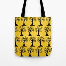 Halloween Trees Tote Bag
