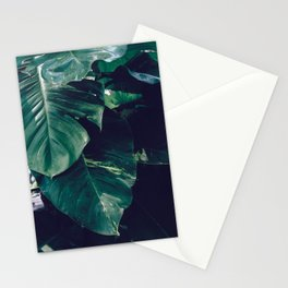 Green Leaves - Bali - Travel Photography Stationery Cards