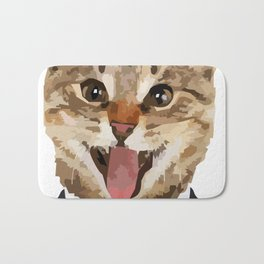 I LOVE CATS Bath Mat