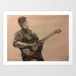 Jimmy Herring Art Print
