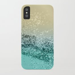 Lemon Twist Beach Glitter #2 #shiny #decor #art #society6 iPhone Case