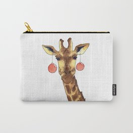 Girafe de Noël Carry-All Pouch