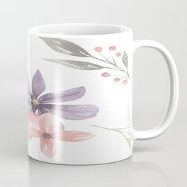 Painting Vintage Floral Pattern Coffee Mug