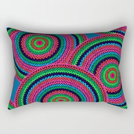 Abstract Seamless Ethnic Style Rectangular Pillow