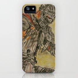 Dark Soldier of ash iPhone Case