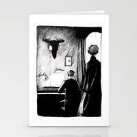 221b Stationery Cards featuring A 221B Scene by Carrianne Bullard