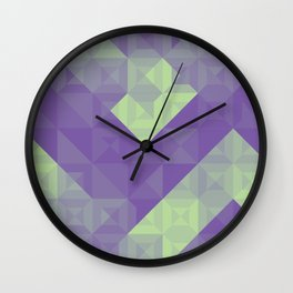 Bleeding Green Chroma Bridge Wall Clock