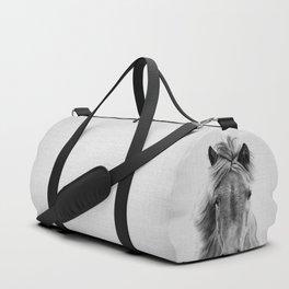 Wild Horse - Black & White Duffle Bag