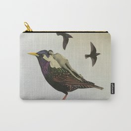 Resting on the Wings of Impatience Carry-All Pouch